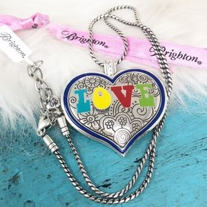 Brighton Summer Love Necklace Reversible NWT